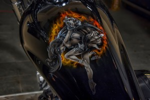 Honda Fury, airbrush by Nenad Barinić, photo by: Vanja Vidaković.