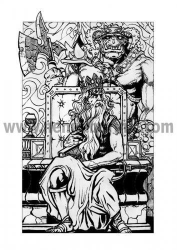 ilustracija na tronu1997
